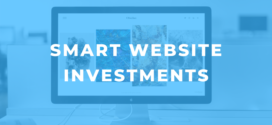 smart website investments